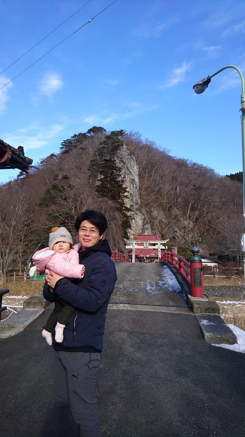 2019年1月12日 巌龍神社で新年のお参り②.