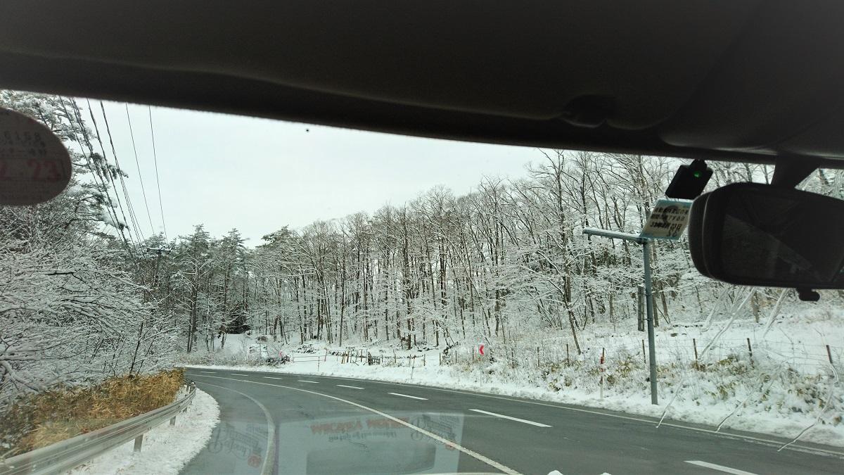 春は若芽、夏はパワフル緑、秋は色とりどりの紅葉、そして冬は木々に積もった雪。